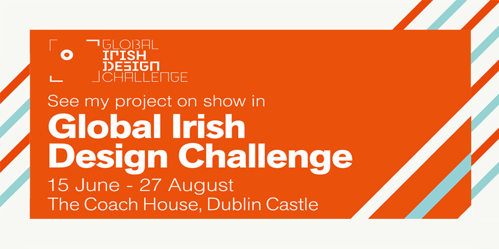Global Irish Design Challenge Social Media Promotion Image